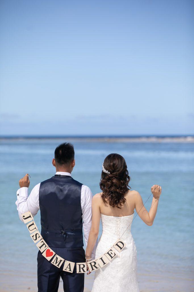 マーメイドウェディングドレス 海外挙式