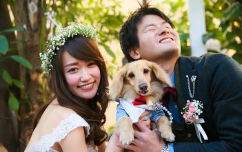 結婚式 ペット参加 イル・ブッテロ ペットウェディング