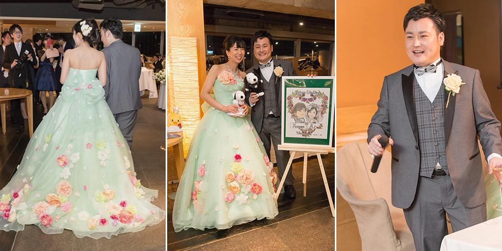 かーい樣結婚式