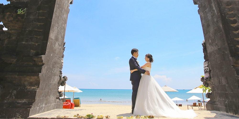 バリ島 結婚式 ウェディングドレス