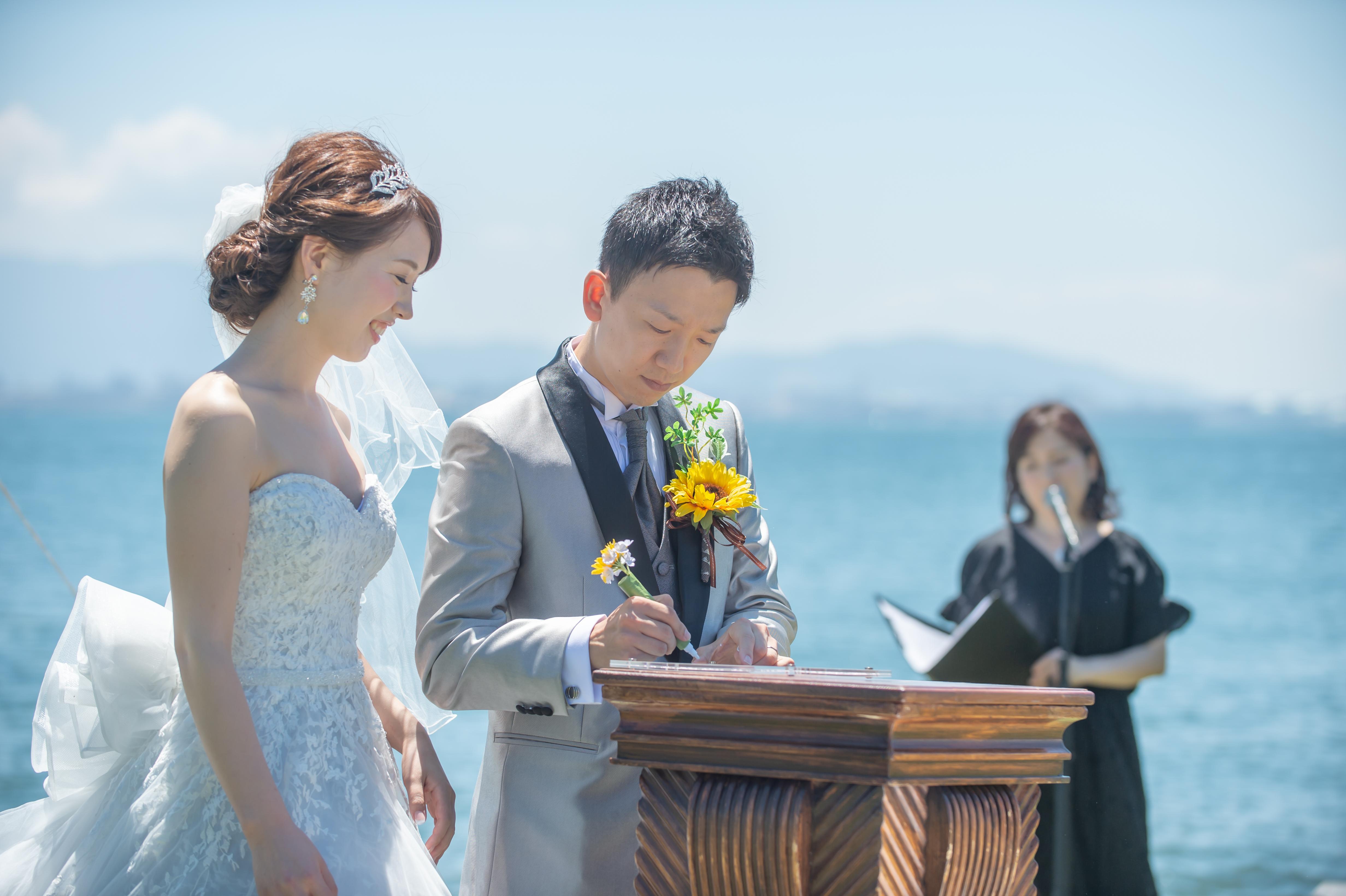ザ・ルイガンズで結婚式 誓約