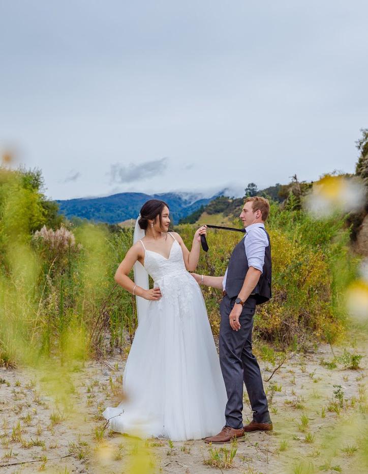 ウェディングドレス キャミドレス 欧米の結婚式