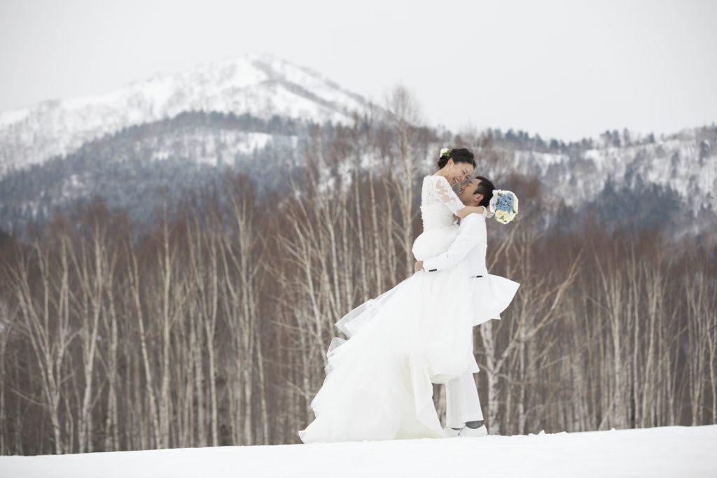 北海道 冬 結婚式