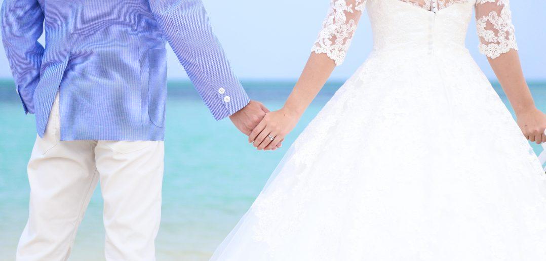 沖縄結婚式 ビーチ撮影