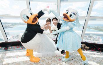 ディズニークルーズ結婚式