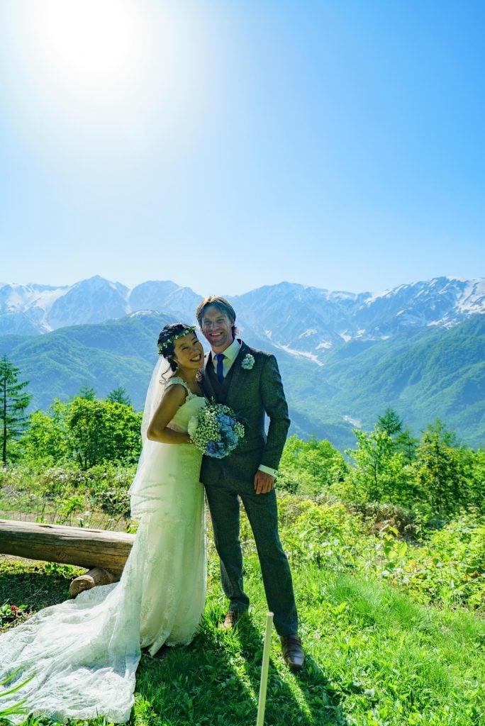 結婚式 白馬岩岳マウンテンリゾートウェディング