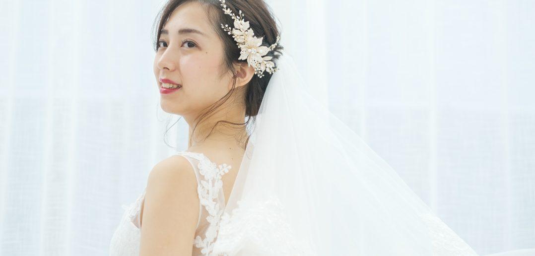 ウェディングドレスに似合う花嫁髪型とは?ドレス種類別で紹介!