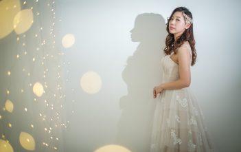 シャンパンカラードレス 東京 ウェディングドレス