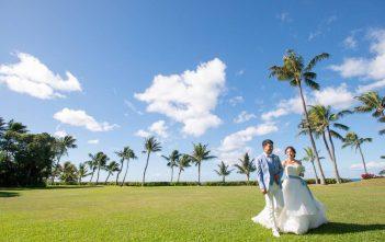 ハワイ パラダイスガーデンクリスタルチャペル 結婚式