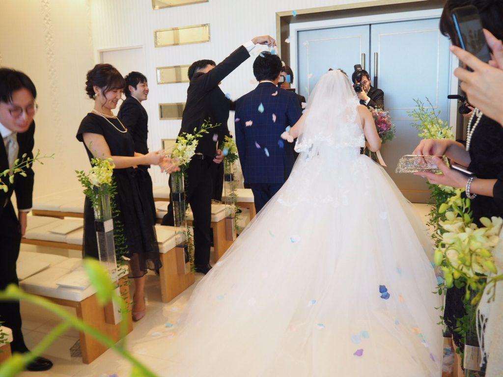 ハカタギグランヒューリ 結婚式 プリンセスラインドレス
