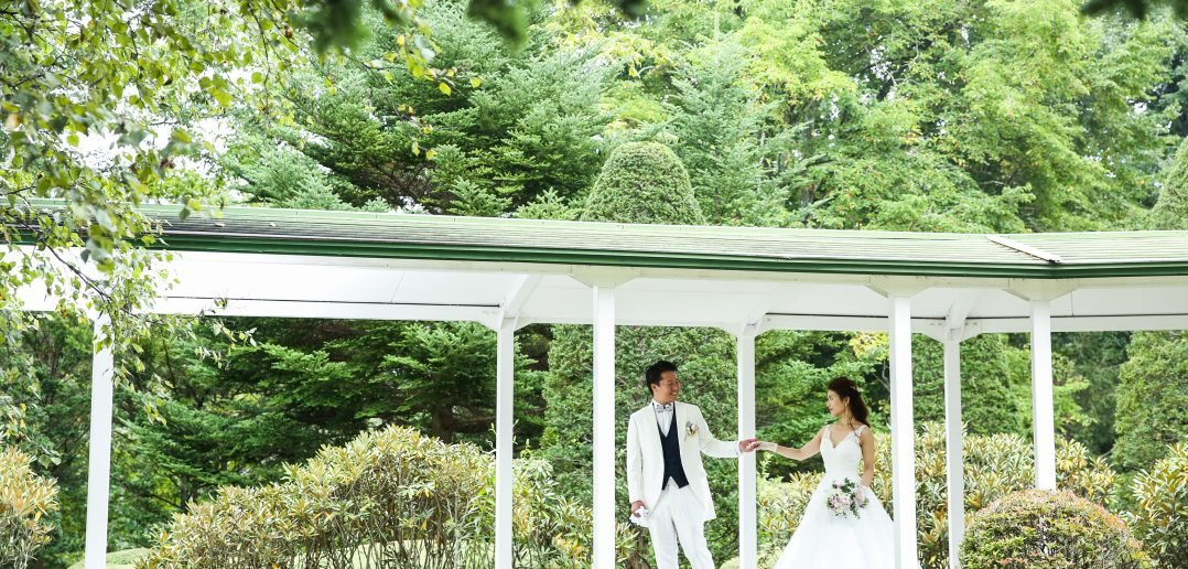 ゆとりろ軽井沢ホテル 結婚式 ウェディングドレス
