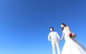 ハワイ パラダイスガーデンクリスタルチャペル 結婚式 マーメイドドレス