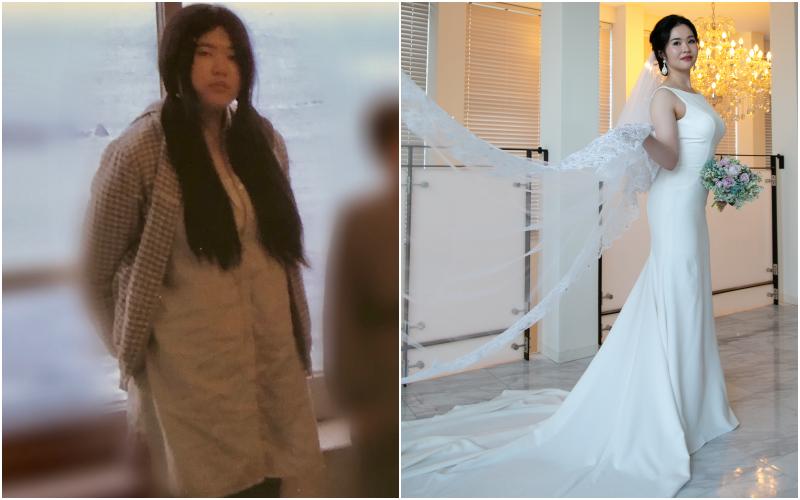 花嫁 ダイエット 成功 マーメイドドレス