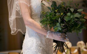 ANAクラウンプラザホテル グランコート 金山 結婚式 ウェディングドレス マーメイド