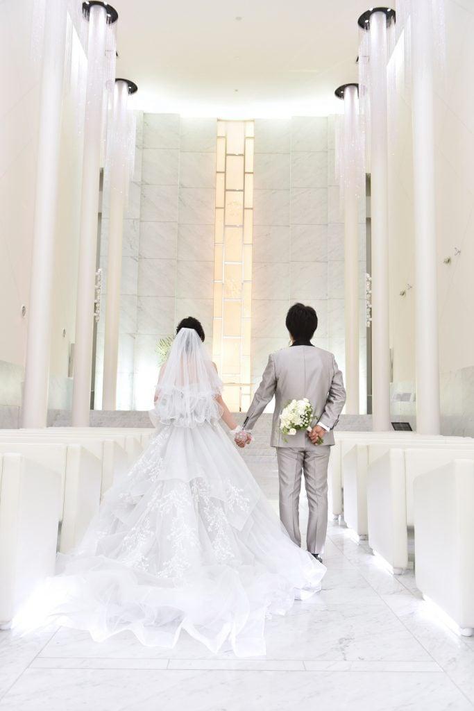 W THE STYLE OF WEDDING 結婚式 ウェディングドレス グレー