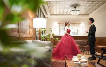 インスタイルウエディング京都 結婚式 お色直し カラードレス