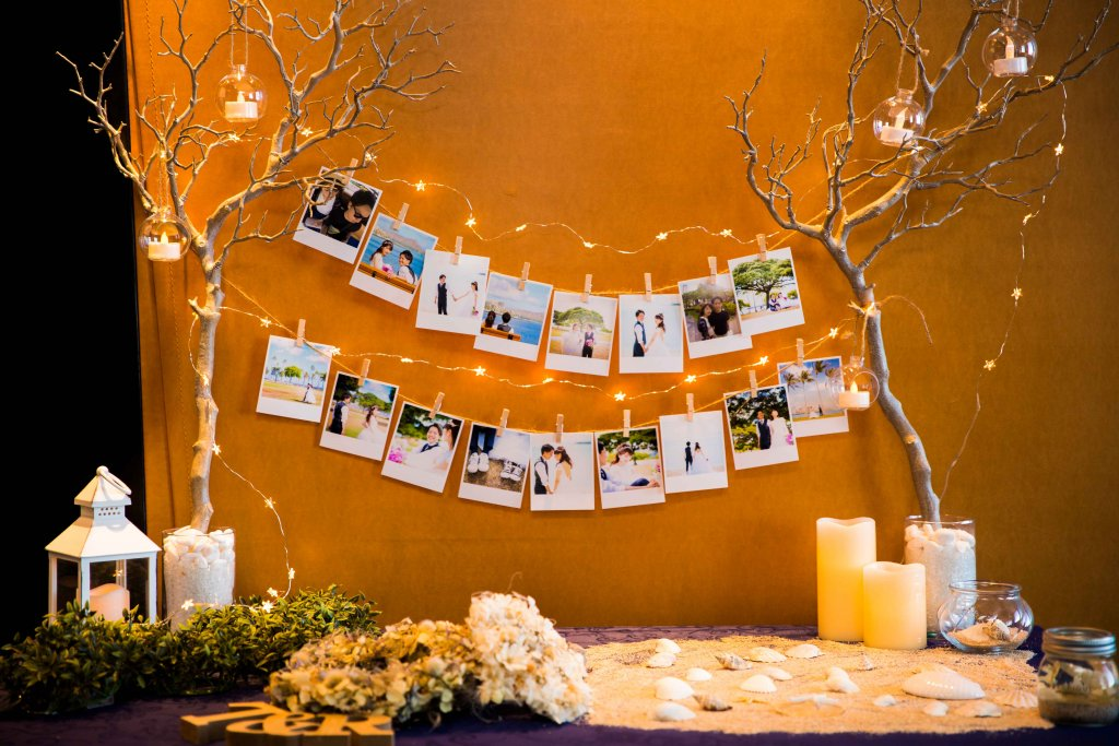 Restaurant LUKE with SKY LOUNGE  結婚式 飾り 前撮り写真