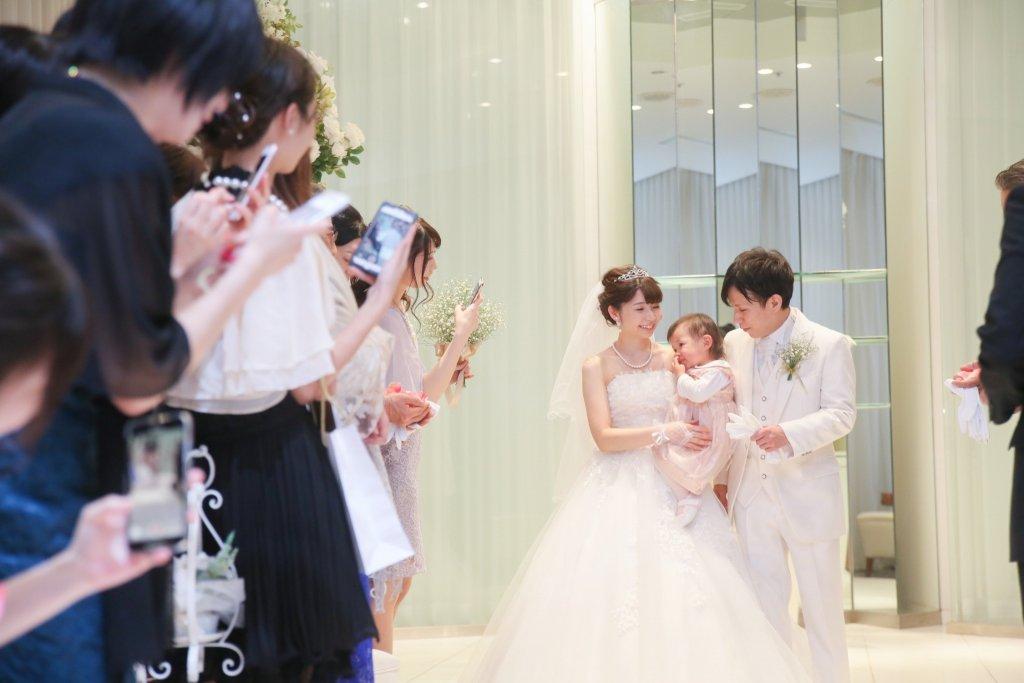 グランドニッコー東京台場 結婚式 ウェディングドレス パパママ婚