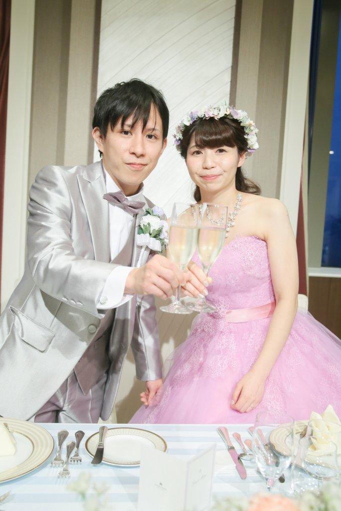 グランドニッコー東京台場 結婚式 カラードレス