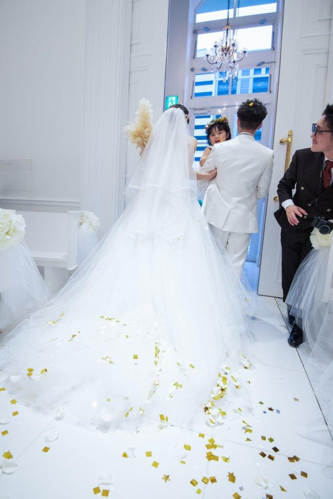 アーフェリーク迎賓館小倉 結婚式 ウェディングドレス チャペル挙式