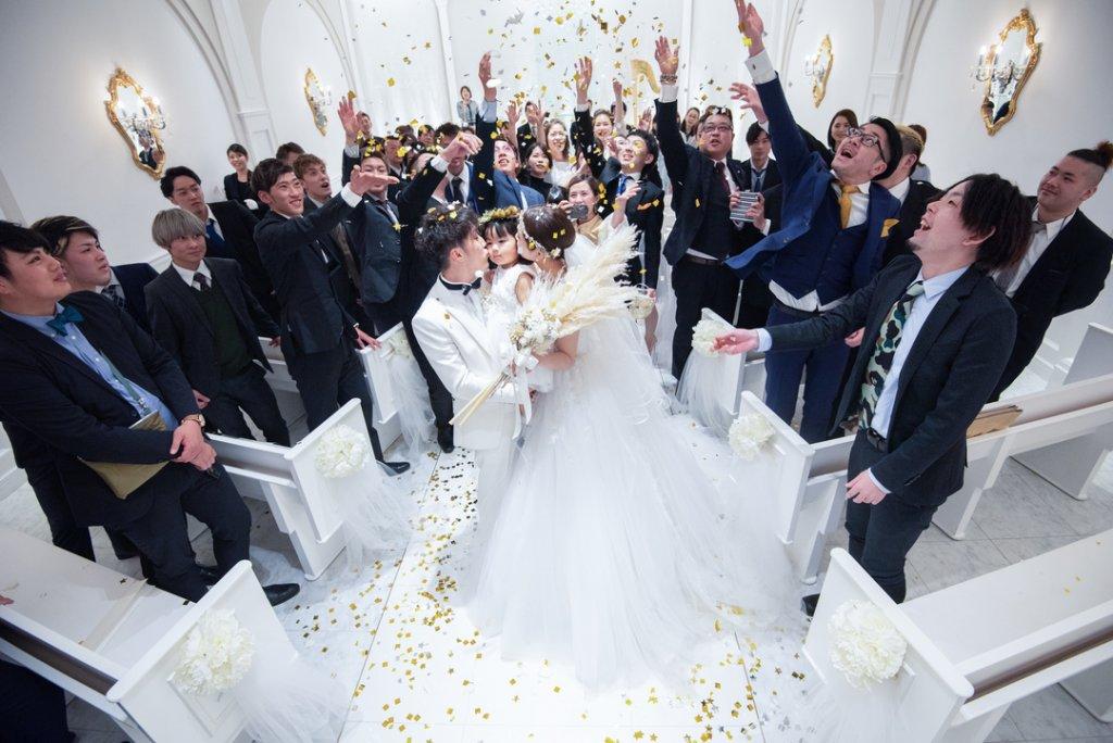 アーフェリーク迎賓館小倉 結婚式 ウェディングドレス パパママ婚