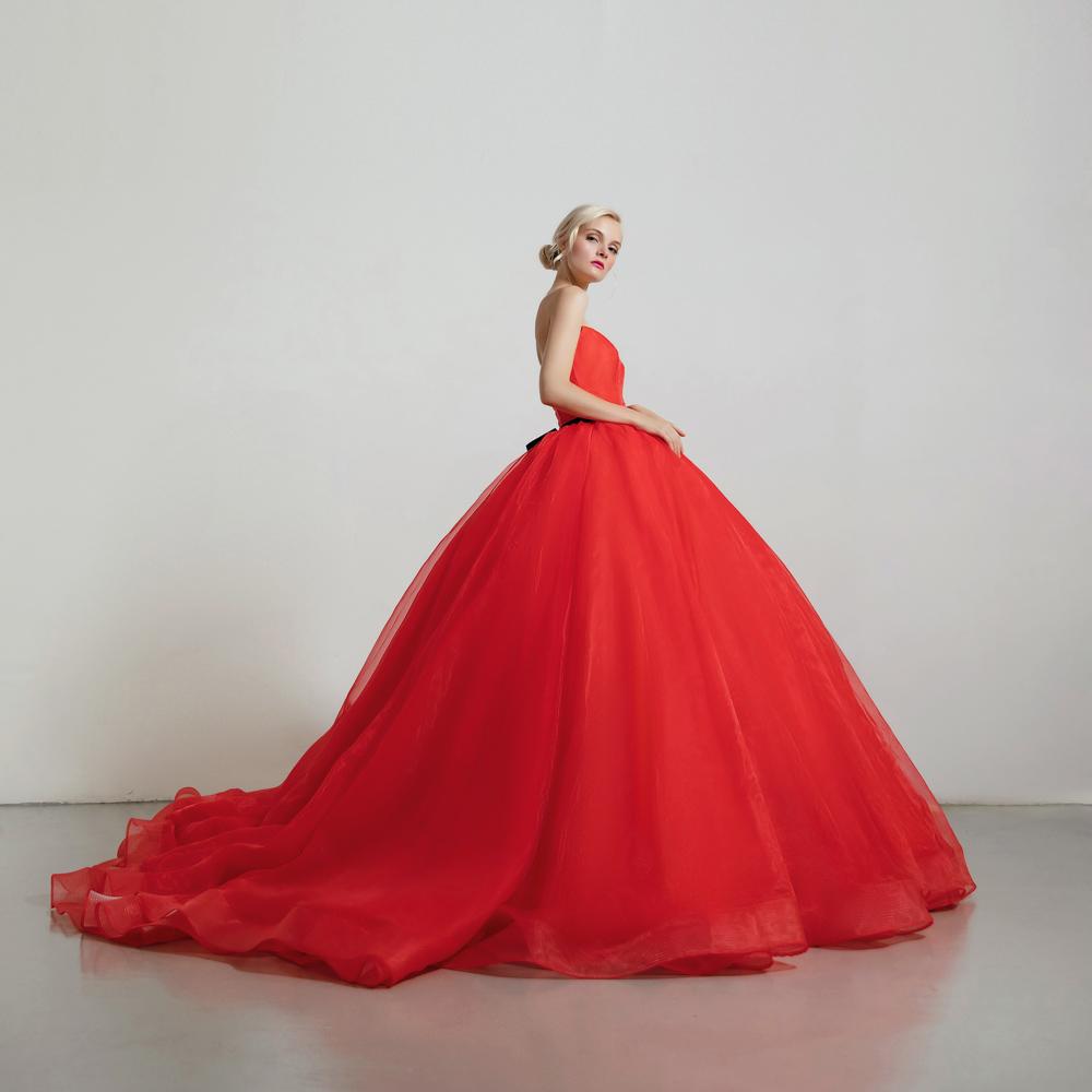 カラードレス 赤 ディズニープリンセス 白雪姫