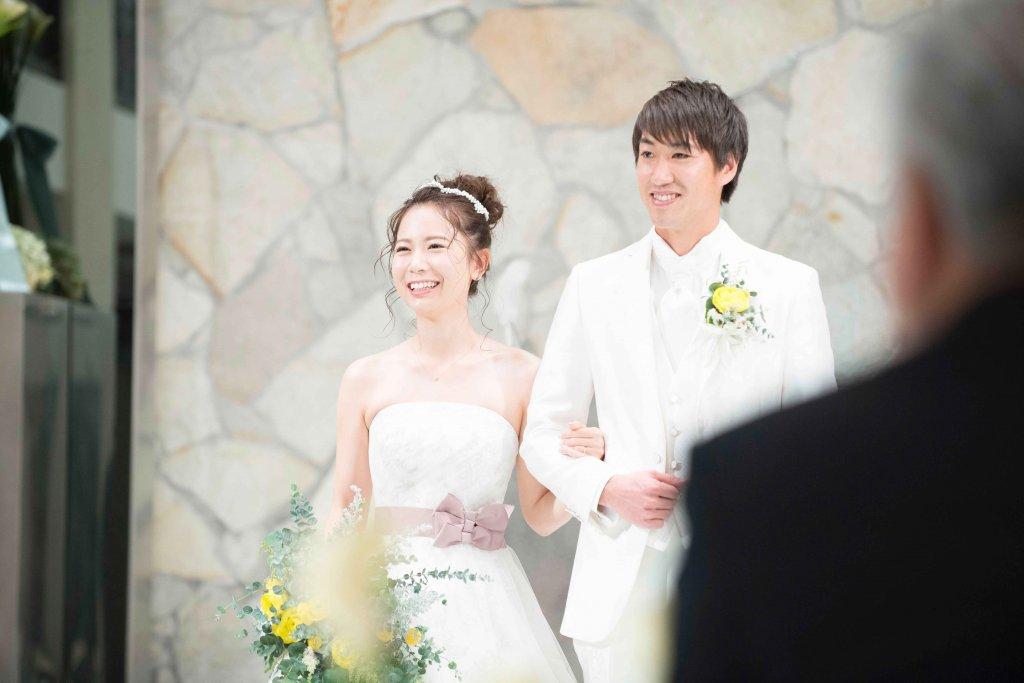 ウェディングドレス サッシュベルト カノビアーノ福岡 結婚式