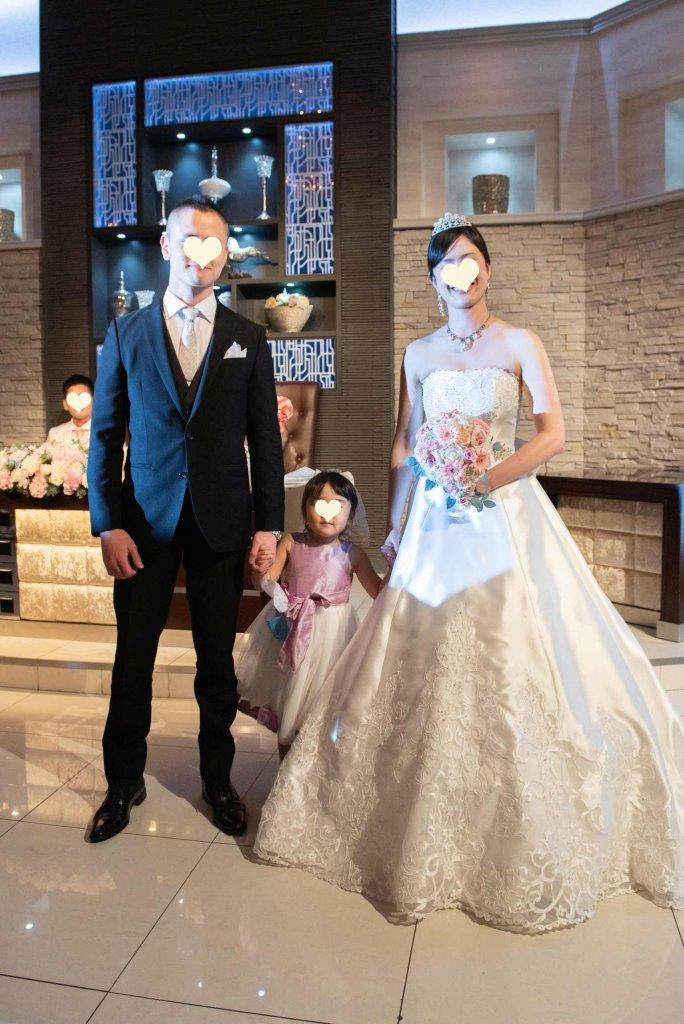 ベルクラシック東京 結婚式 サテンドレス 上品