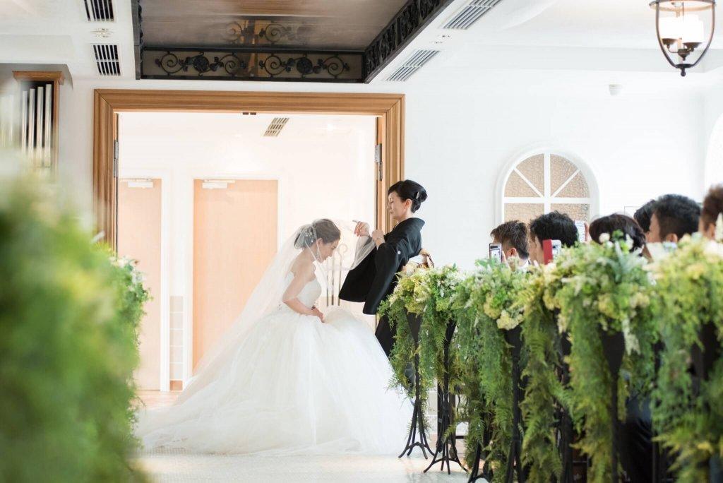 恵比寿duodomo 結婚式 ウェディングドレス チャペル挙式
