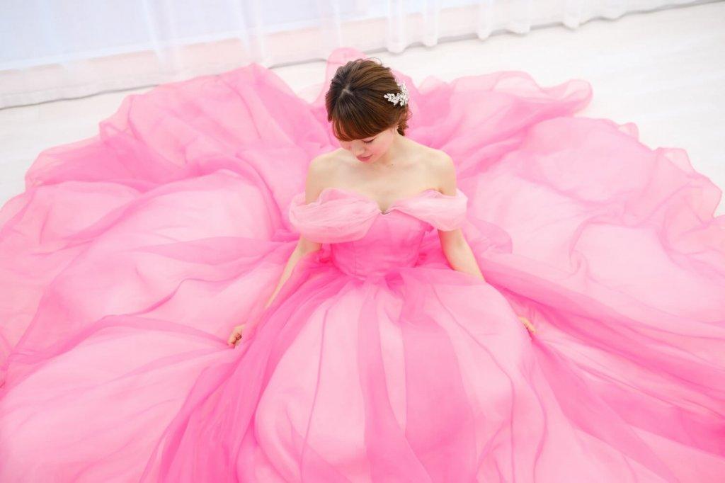 『眠れる森の美女』(オーロラ姫) カラードレス