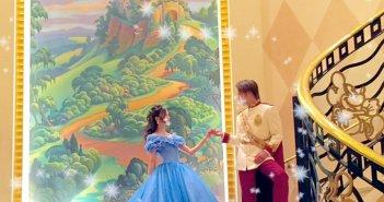 ディズニーアンバサダーホテル 結婚式 シンデレラドレス