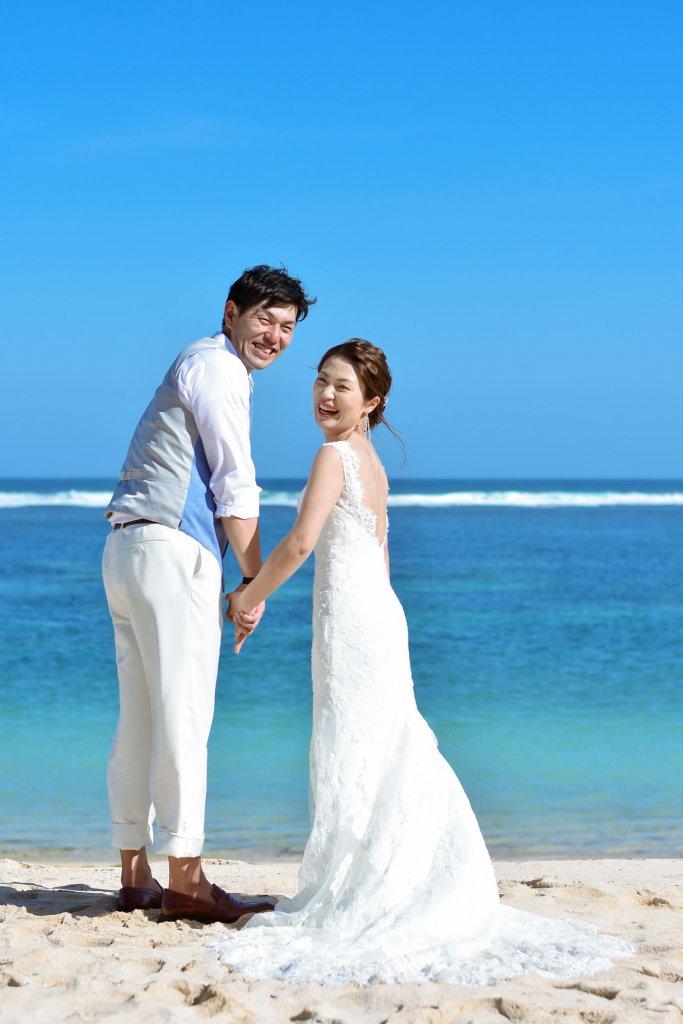 バリ島 結婚式 二人だけ ウェディングドレス フォトツアー