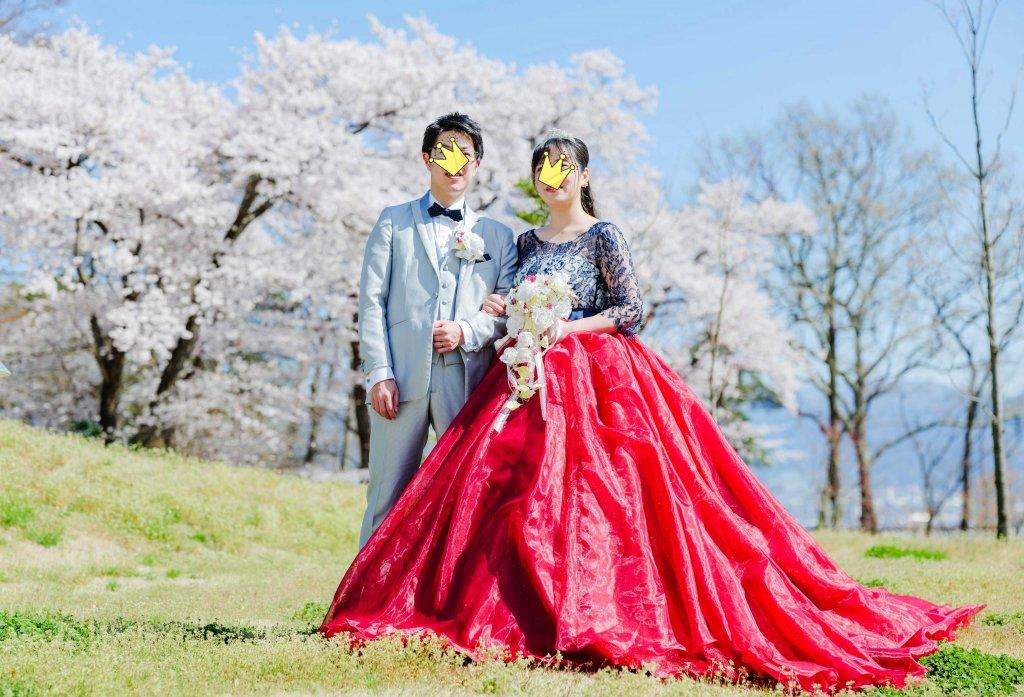 ウェディングドレス オーバースカート 結婚式前撮り