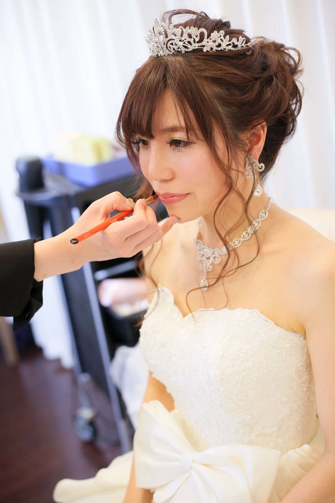 アールベルアンジェNagoya 結婚式 ウェディングドレス メイク