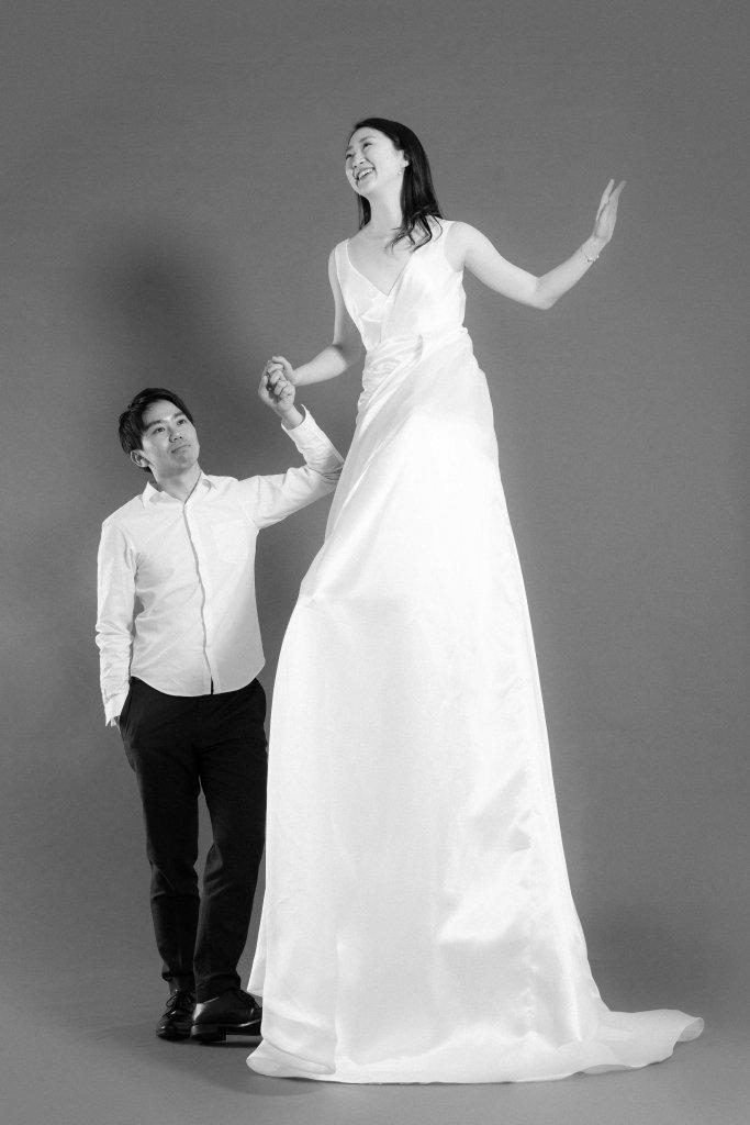 結婚式 前撮り ウェディングドレス