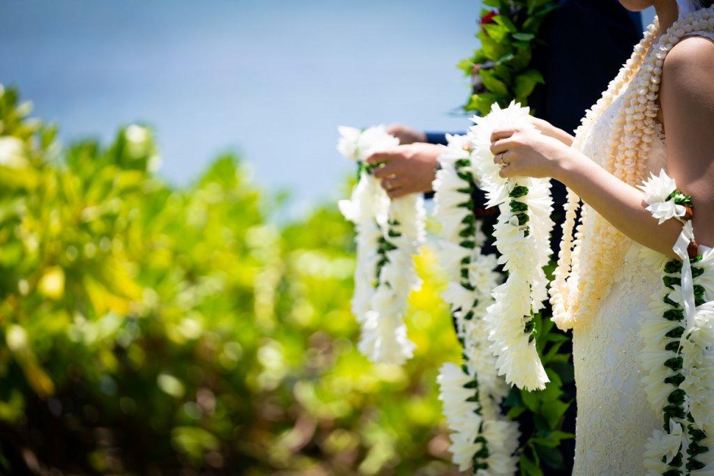 結婚式 演出 レイセレモニー ハワイ