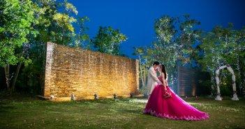 アクアリュクス 結婚式 カラードレス お色直し
