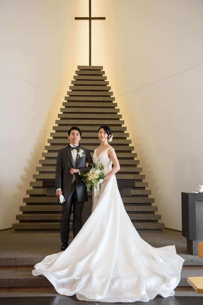 アンダーズ東京 結婚式 ウェディングドレス おしゃれ