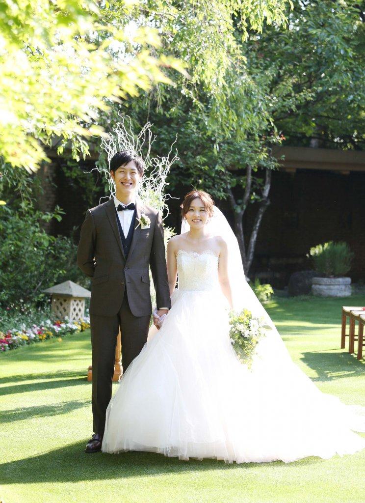 岩崎台倶楽部グラスグラス 結婚式 ウェディングドレス