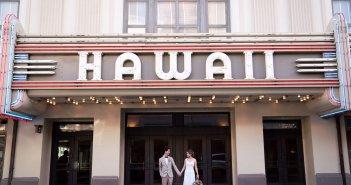 ハワイウェディング フォトツア ウェディングドレス バックレスドレス