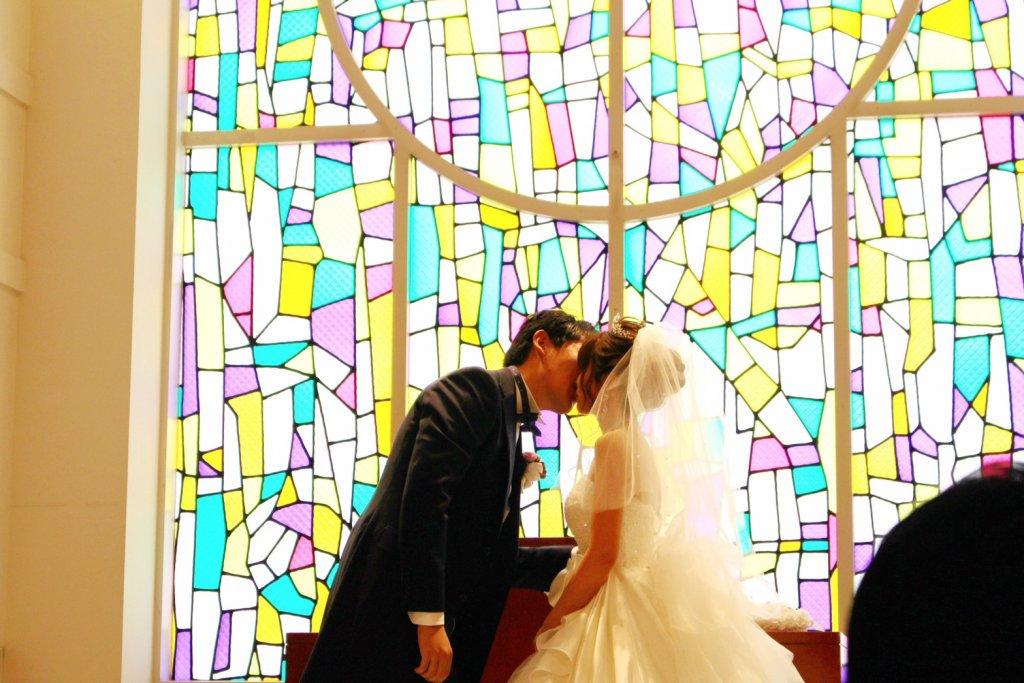 アールベルアンジェNagoya 結婚式 ウェディングドレス チャペル