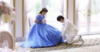 ザ・ロイヤルクラシック福岡 結婚式 シンデレラドレス