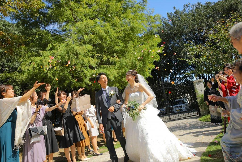 森の邸宅 彩音 結婚式 ウェディングドレス Aライン