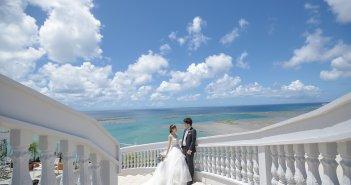 結婚式前撮り 沖縄ウェディング ウェディングドレス