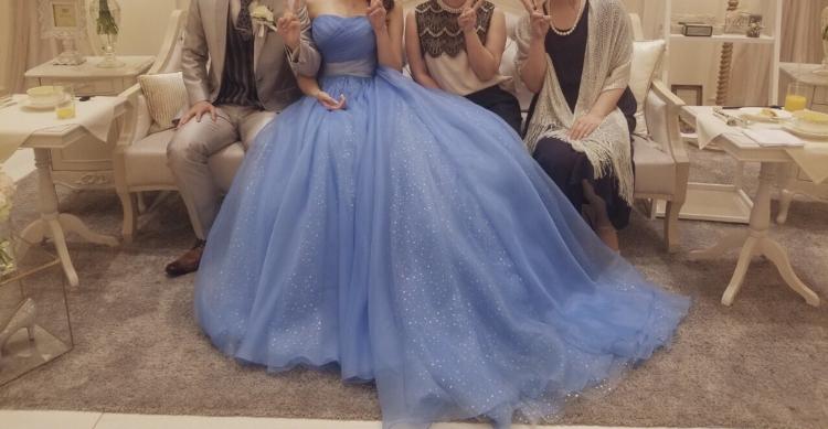 アニヴェルセル江坂 結婚式 カラードレス