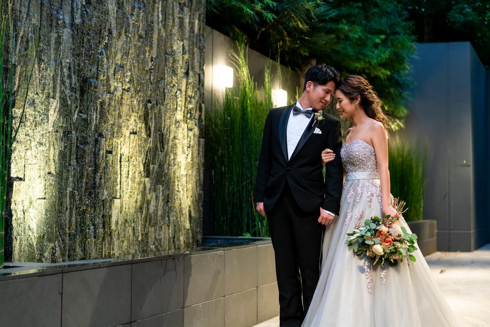 TRUNK HOTEL 結婚式 カラードレス グレードレス
