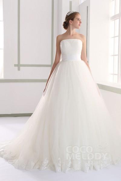 LH190 チュール ビスチェ ウエディングドレス