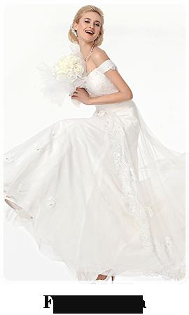 ウエディングドレスを格安でオーダーしたいならCOCOMELODY(ココメロディ)のデザイナーズコレクションFaith By Aniia