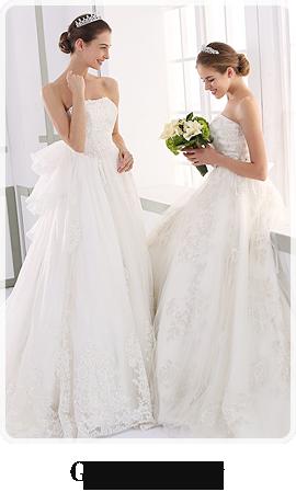 ウエディングドレスの定番のデザイナーズコレクションGrace Luxury