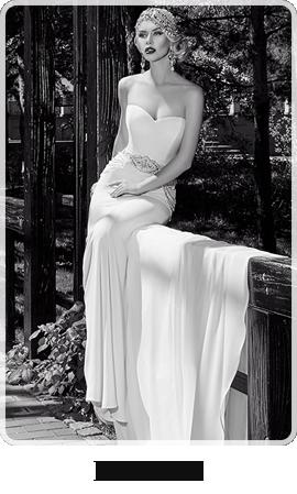 洗練された美しさを感じるウエディングドレスをお探しなら、Ida Torez
